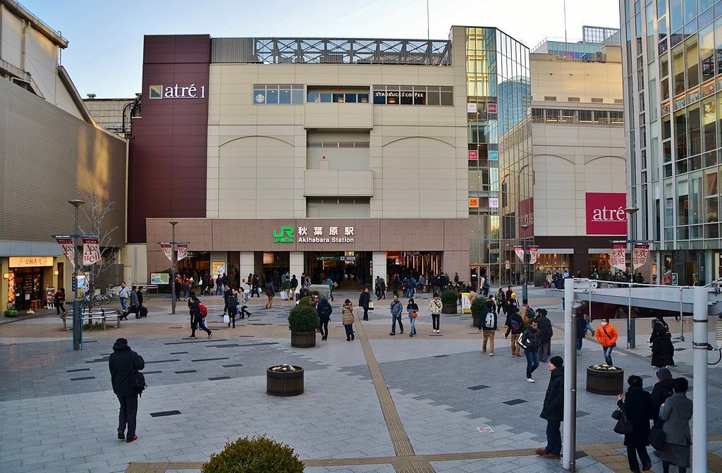 秋葉原駅前の商業施設