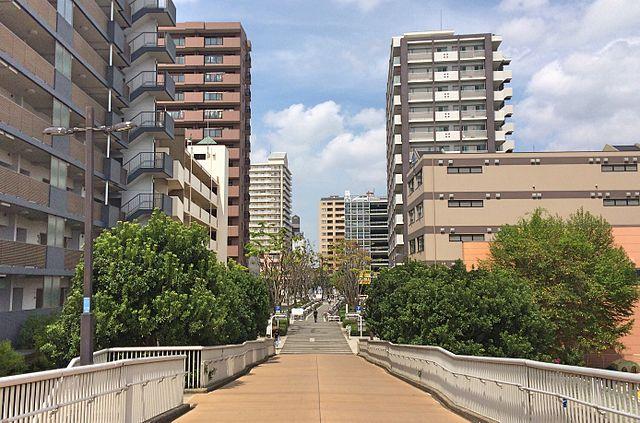 南口の住宅街の風景