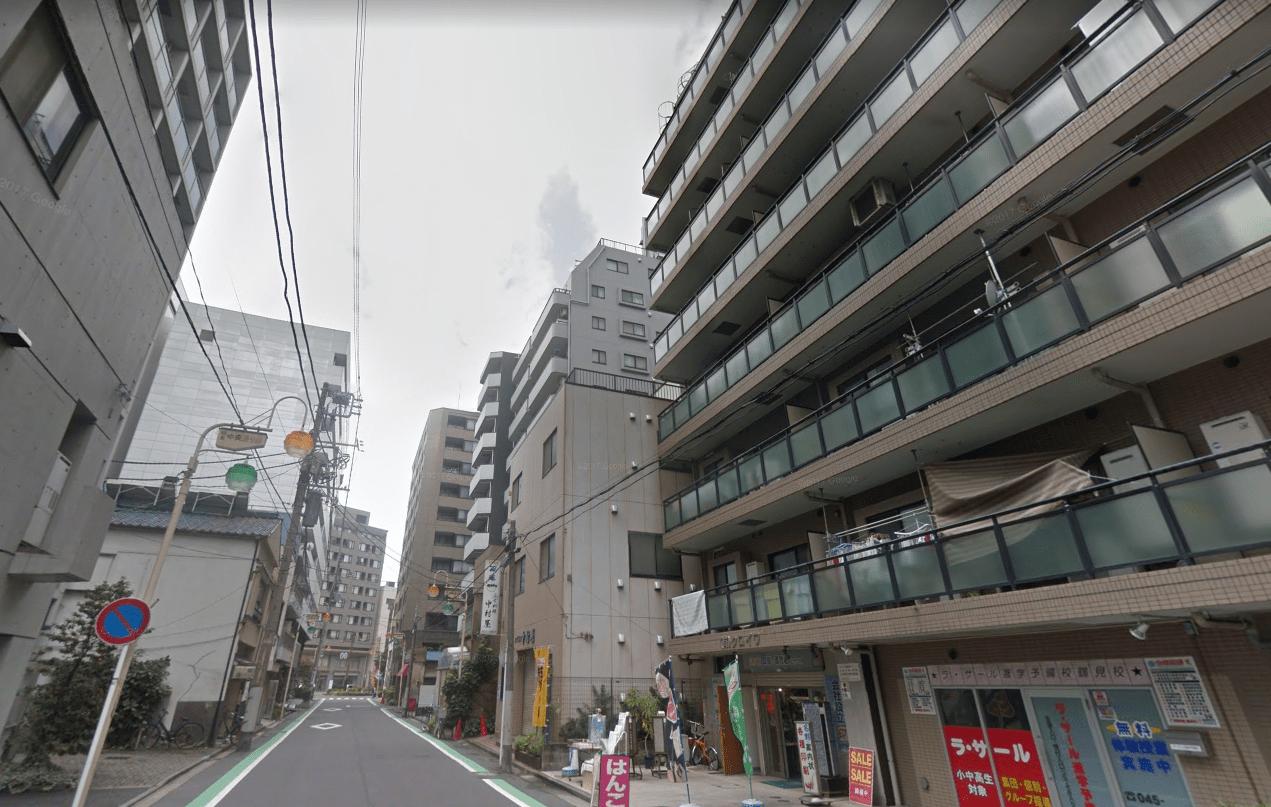 マンションが多い街並み
