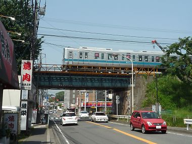 小田急線の鉄橋