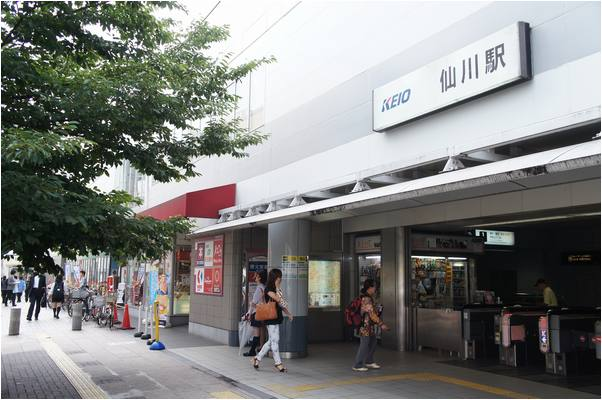 仙川駅の風景