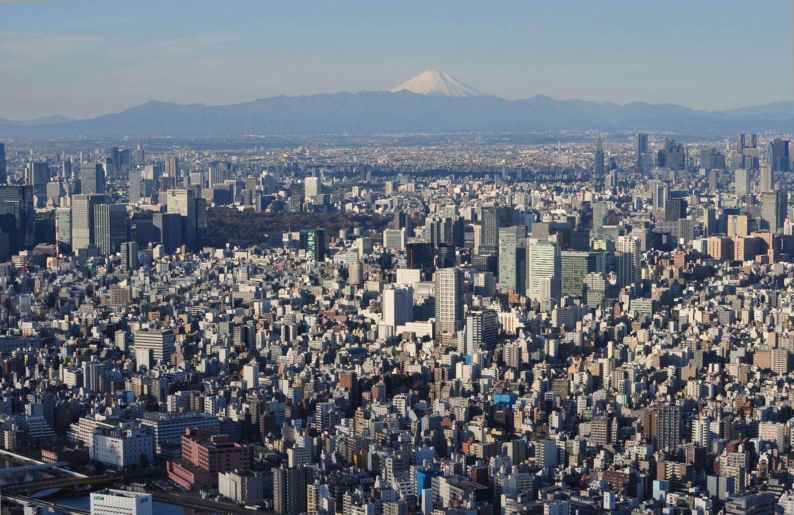 東京の眺望