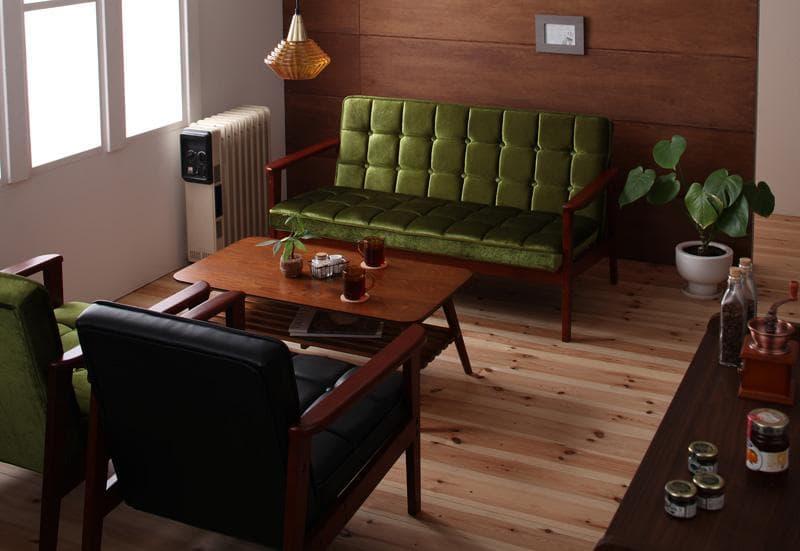 洋室にダブルベッドを置いた例