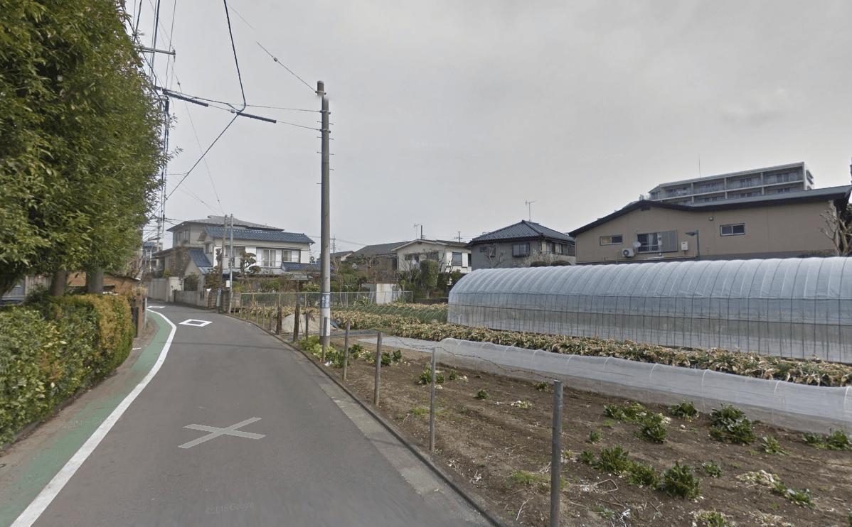 駅から離れた住宅街