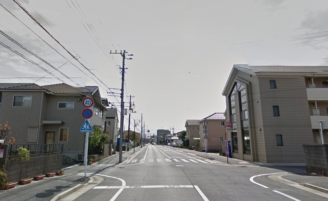 駅周辺の住宅街