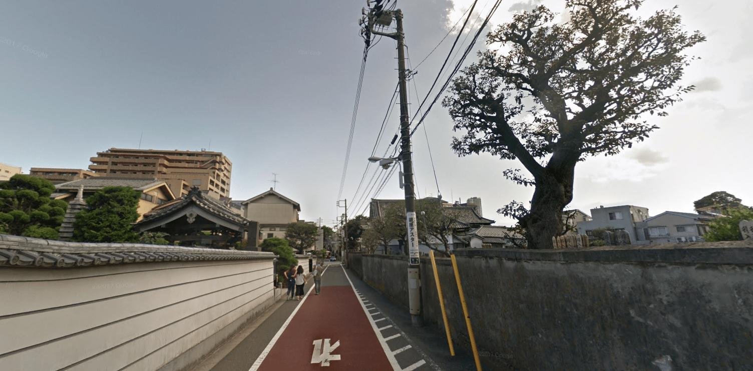 神社仏閣が多い街並み