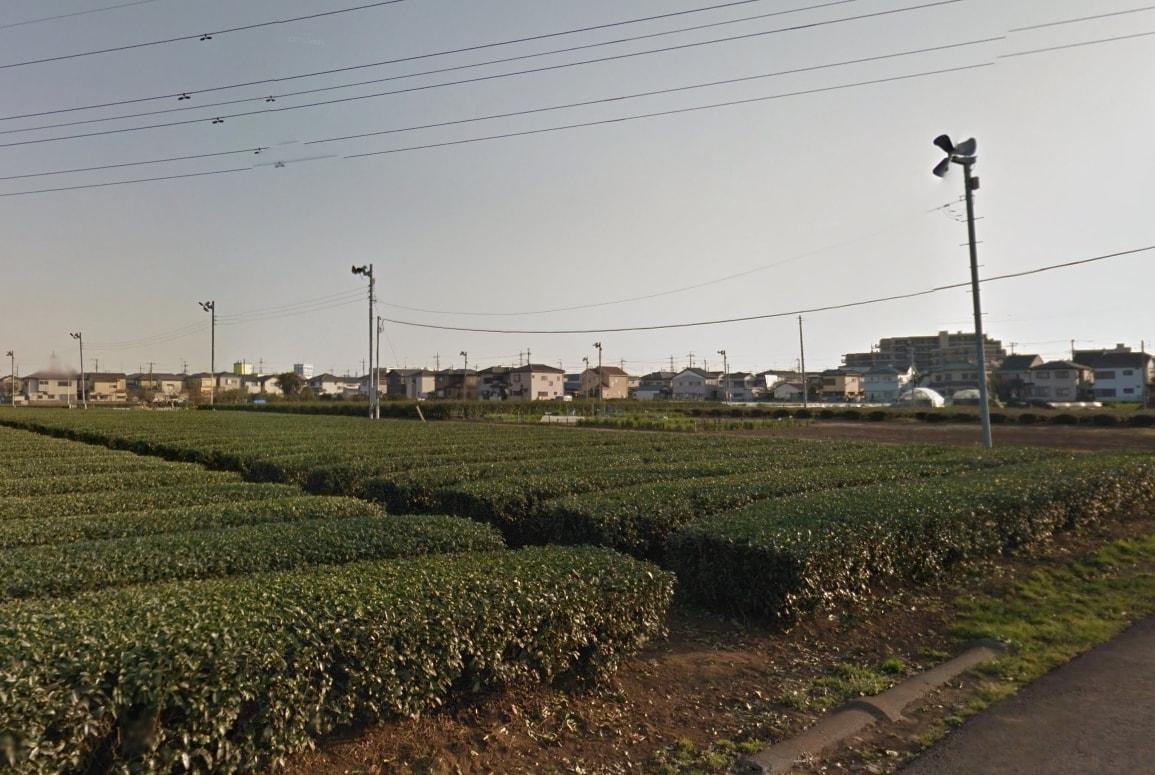 武蔵藤沢の街並み