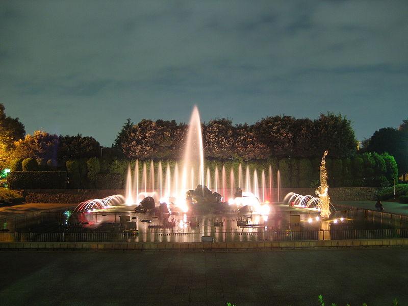 北浦和公園の大噴水