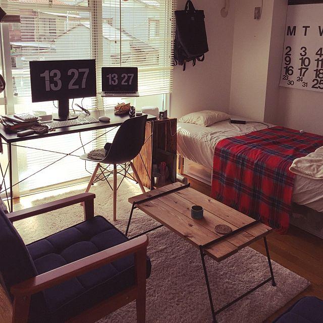 荷物が多い7畳の部屋