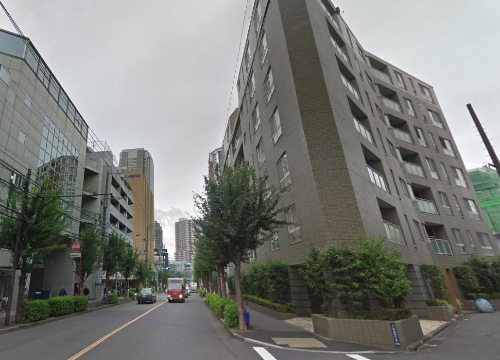 南側の住宅街の風景