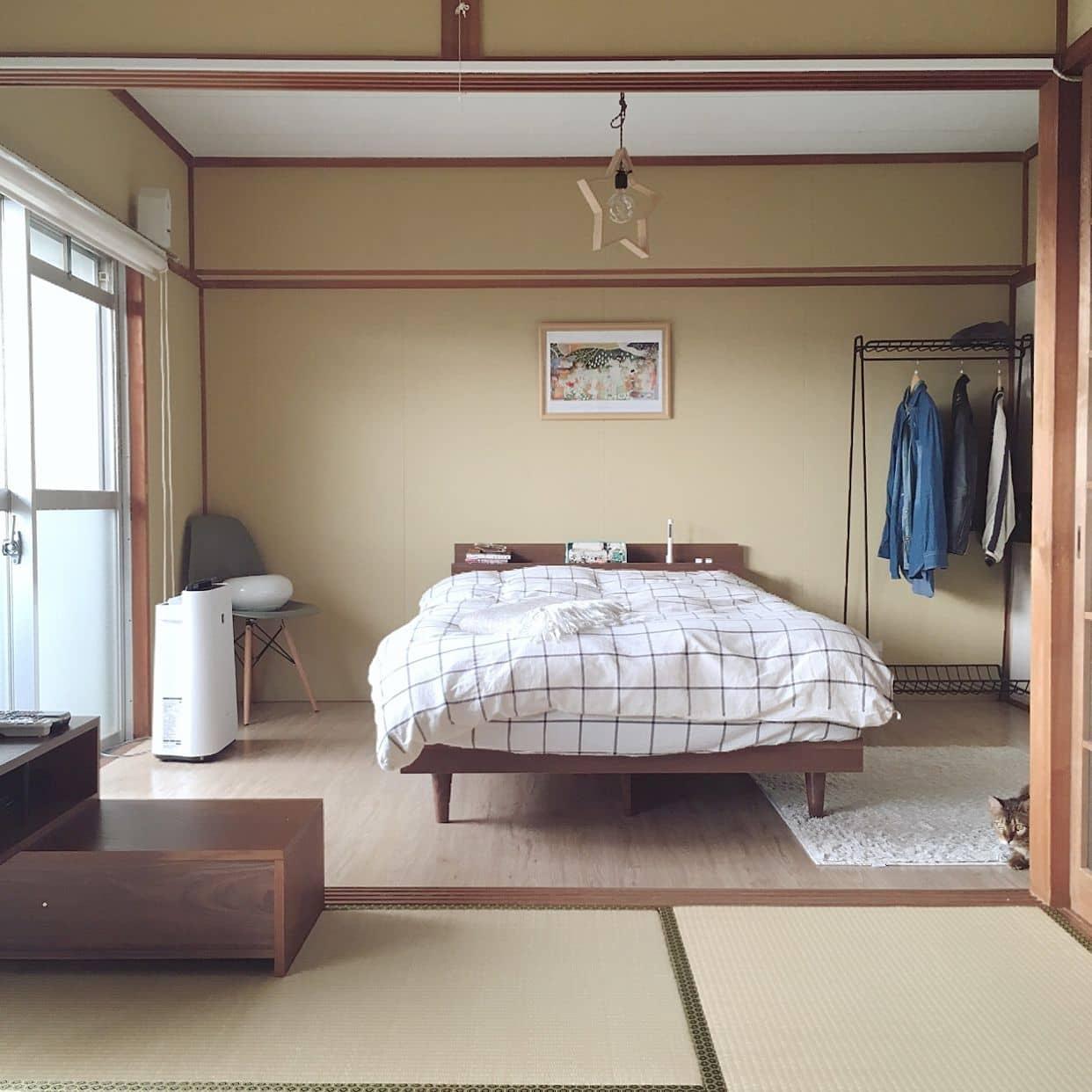 洋室風のベッドルーム