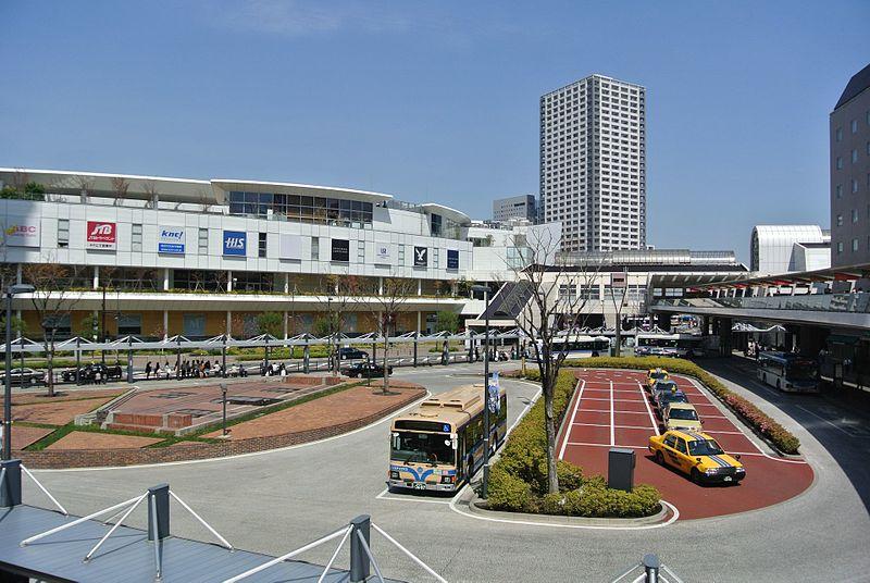 川崎駅西口北バス停