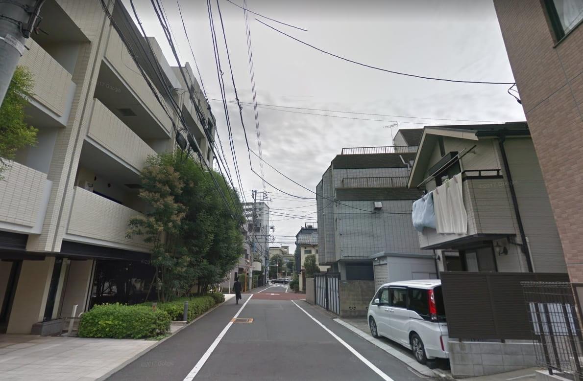 高田馬場西側住宅街