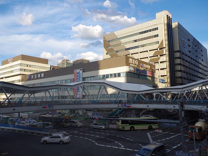 天王寺駅周辺の風景