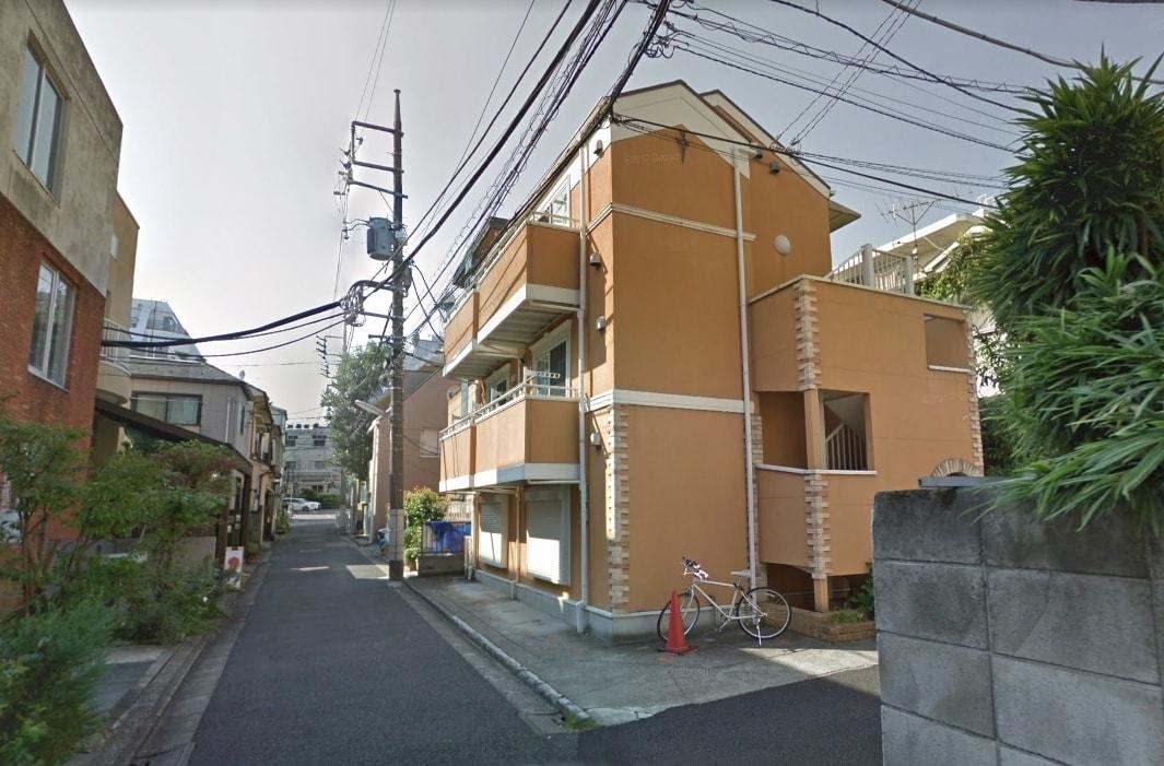 住宅街の風景