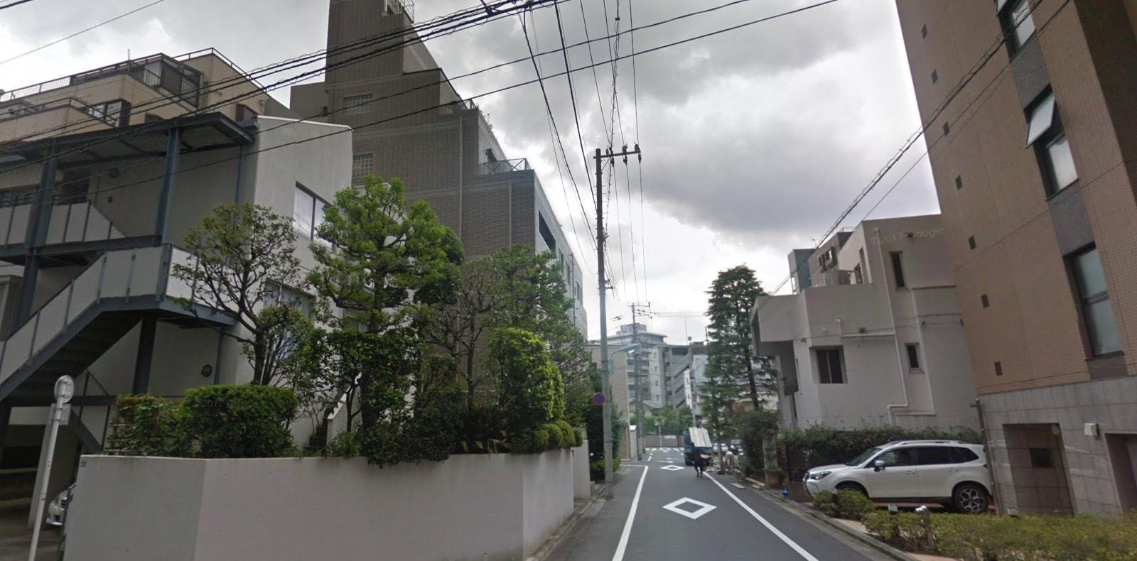 駅近の住宅街