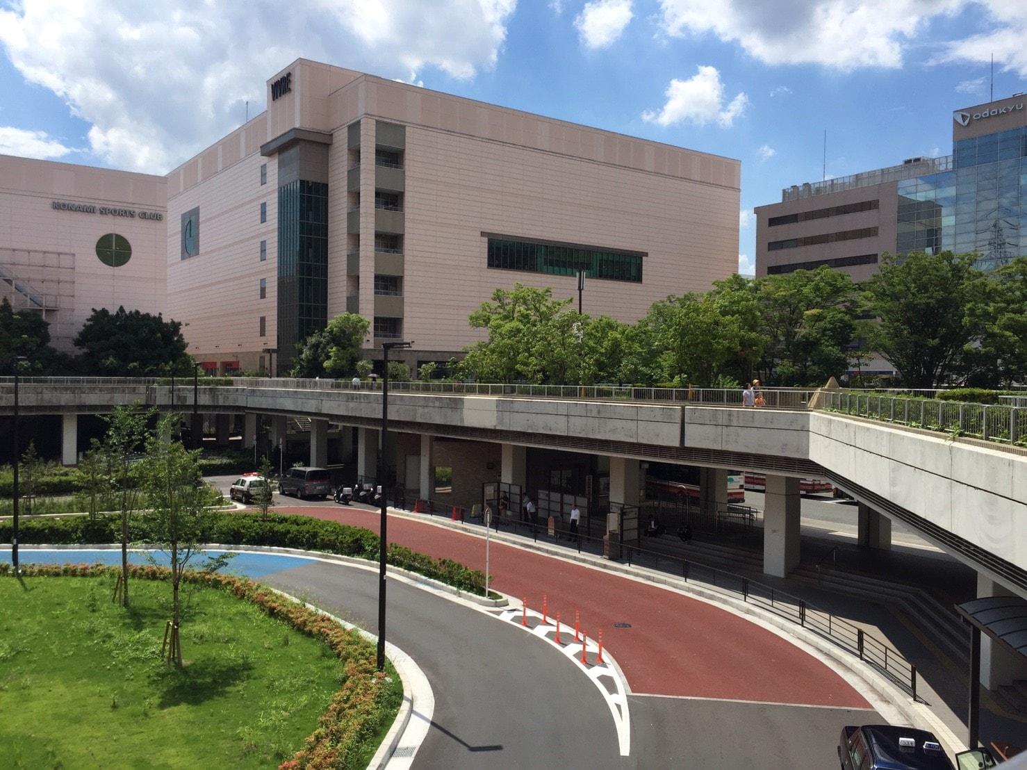 新百合ケ丘駅 南口