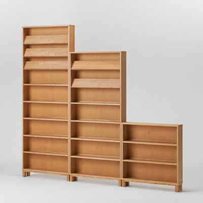 無印良品の薄い本棚