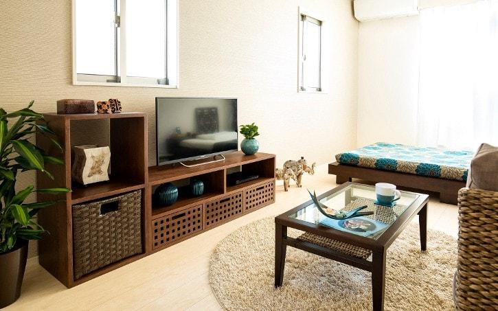 長方形の部屋の例