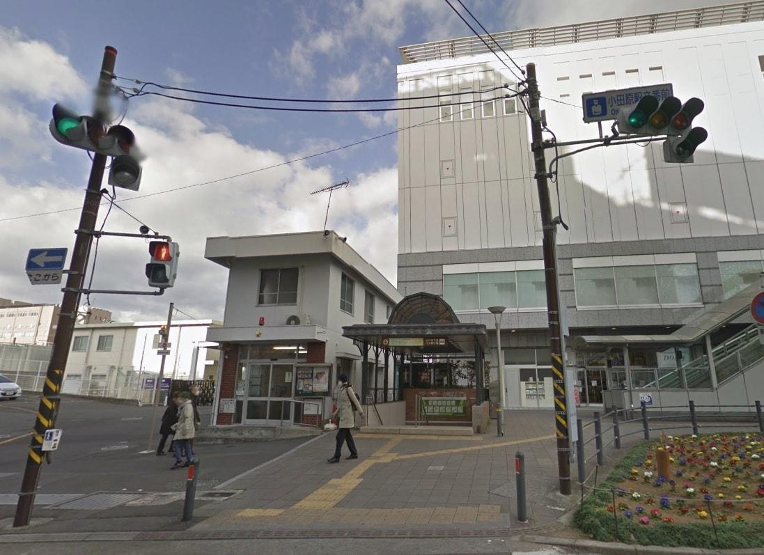 駅前の交番