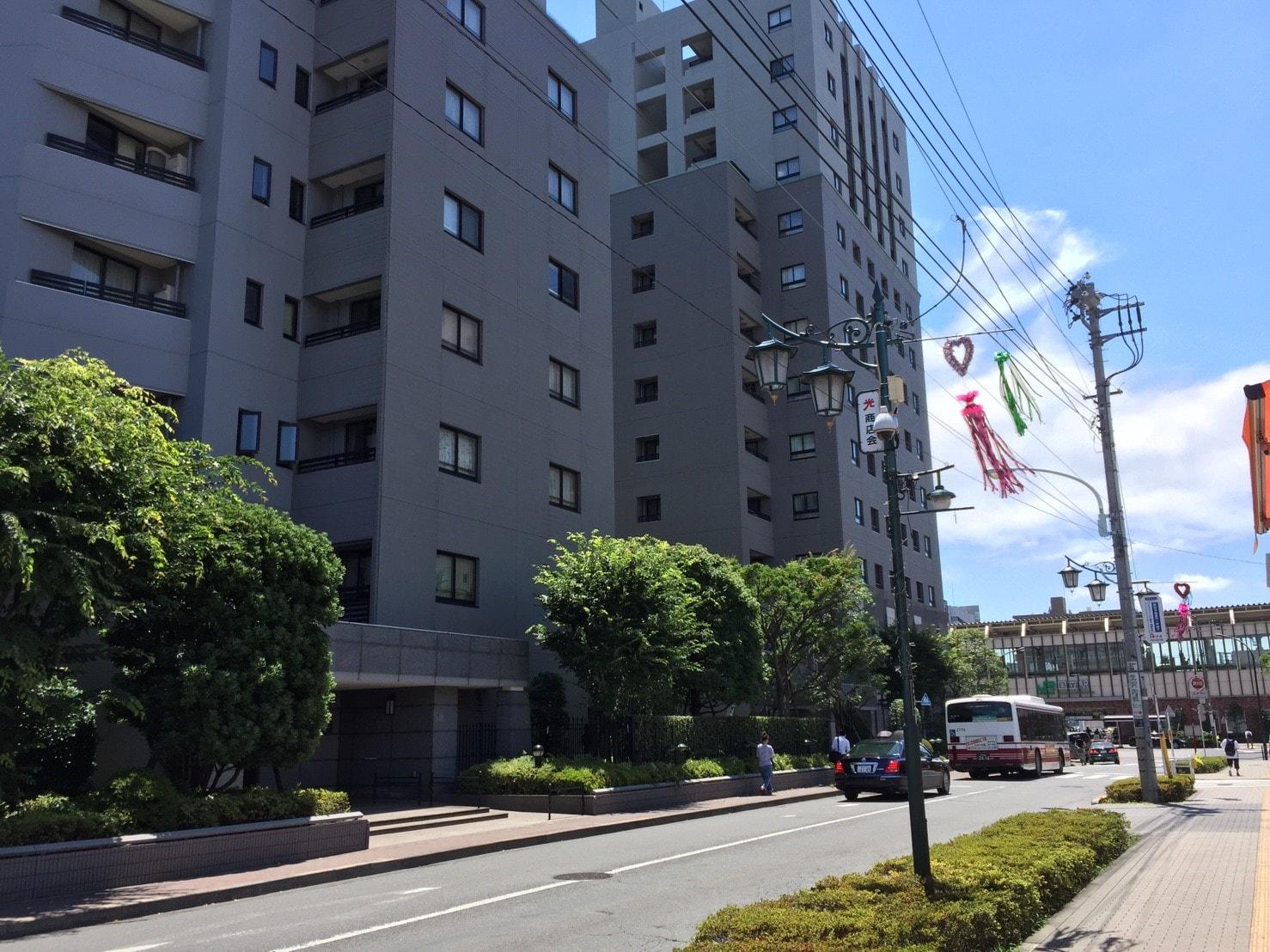 国立駅の近くにあるスーパー三浦屋