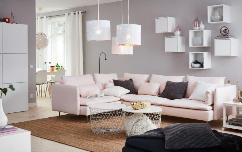 フェアリーなピンクが印象的なお部屋