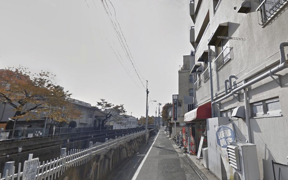 神田川沿いの風景