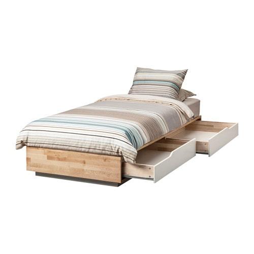 イケアの収納付きベッド【MANDAL】