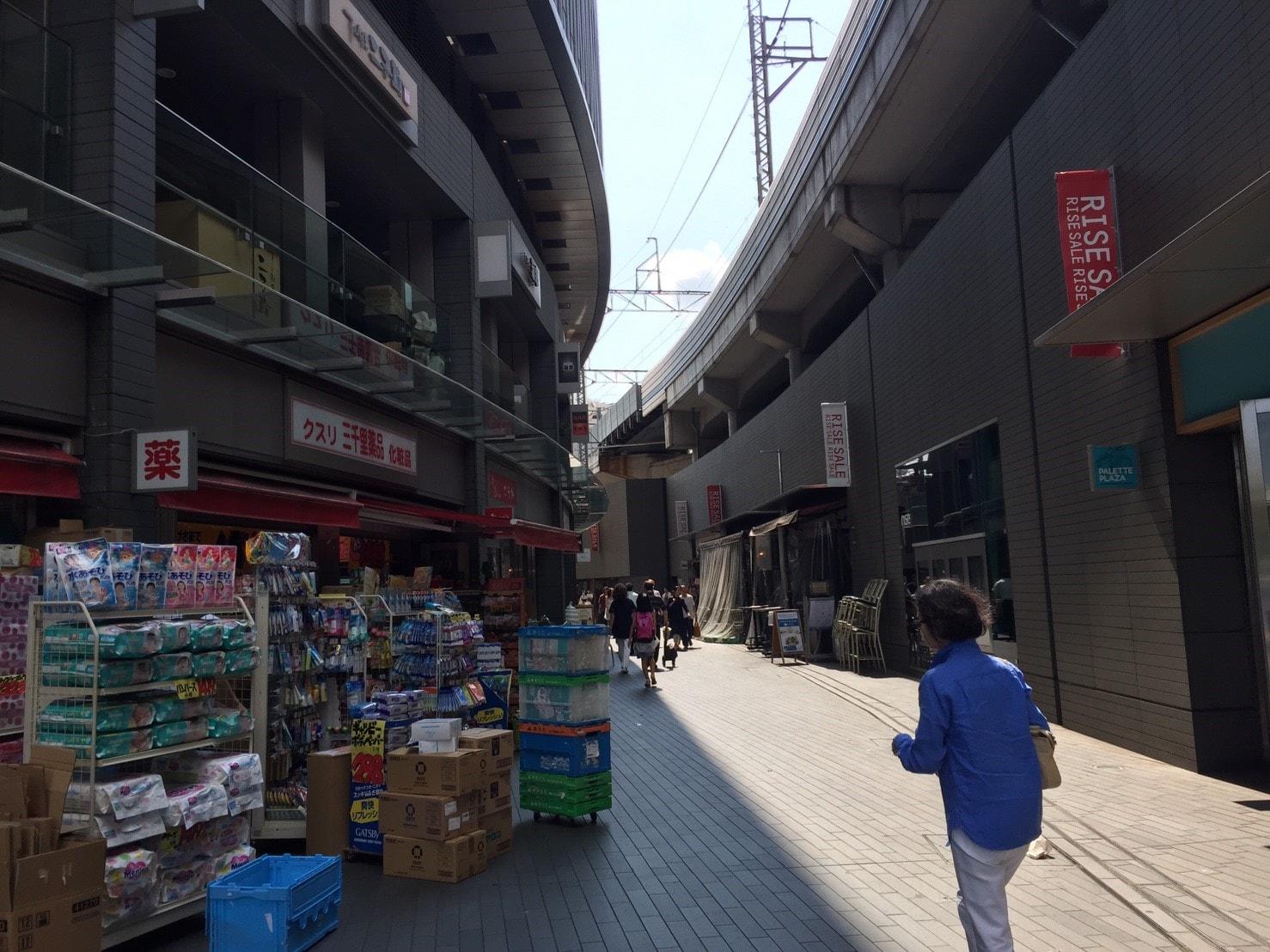 二子玉川駅外