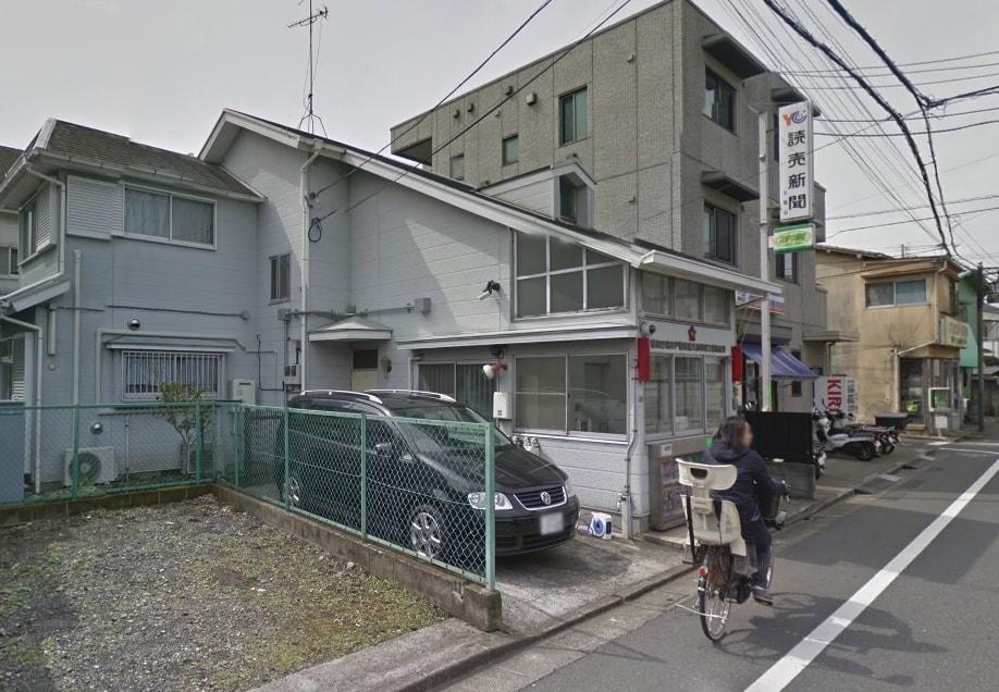 住宅街の交番