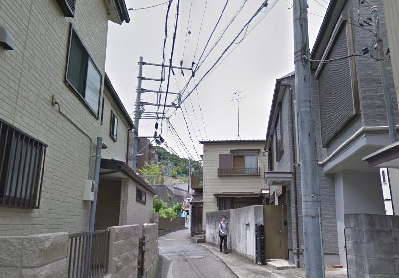 戸建ての多い住宅街