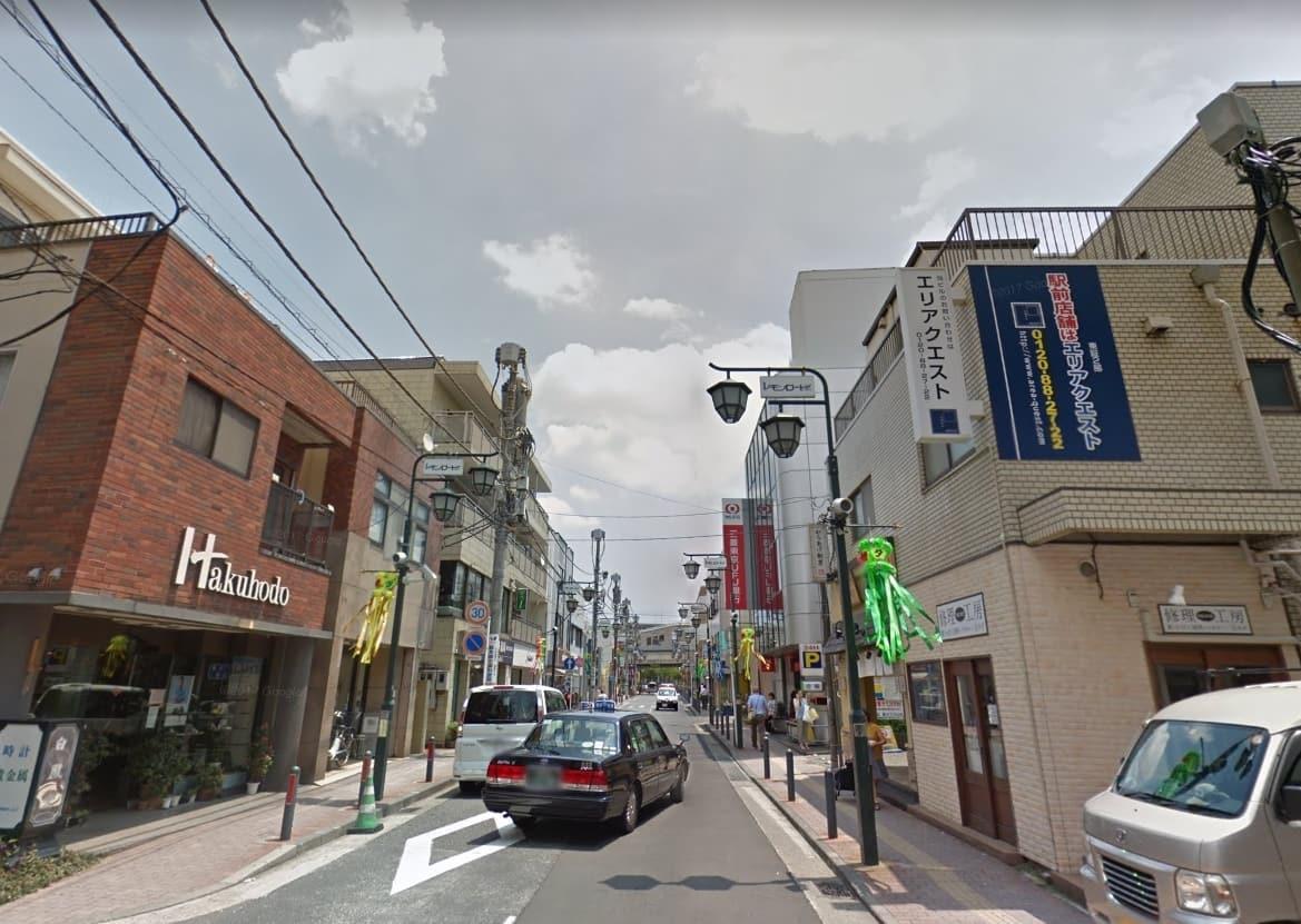 レモンロード通商店街の様子