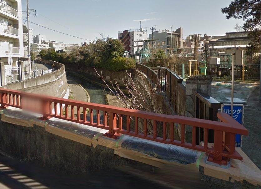 善福寺川と神田川