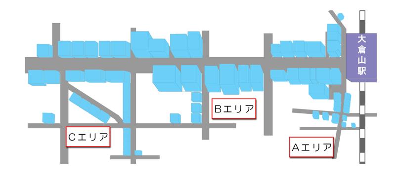 エルム通り商店街マップ