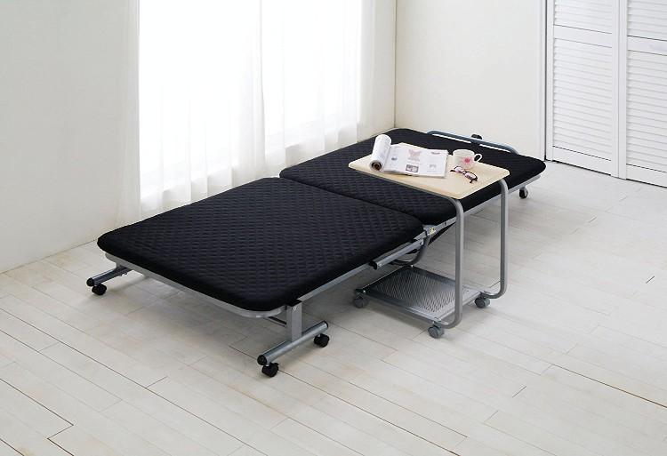 アイリスオーヤマ 折りたたみベッド