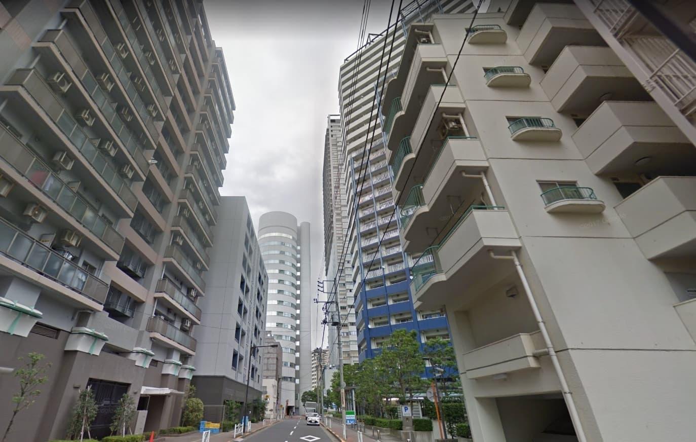 隅田川沿いのマンション