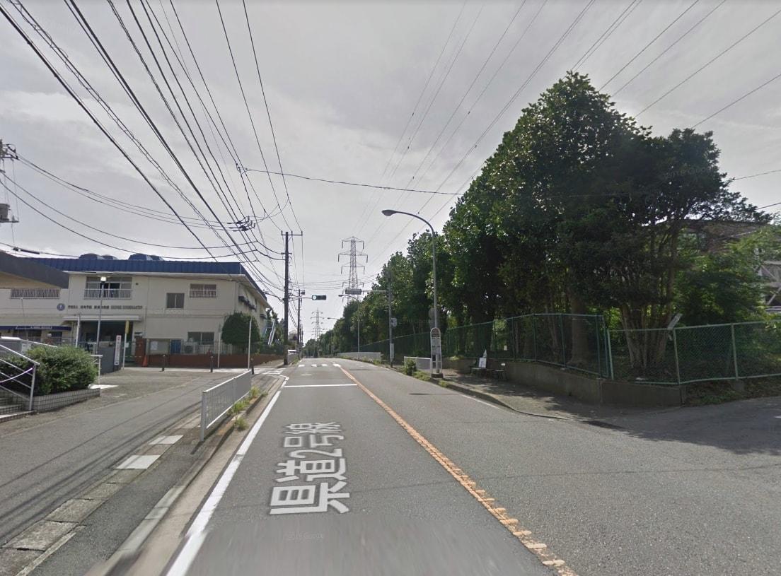 綱島街道の様子