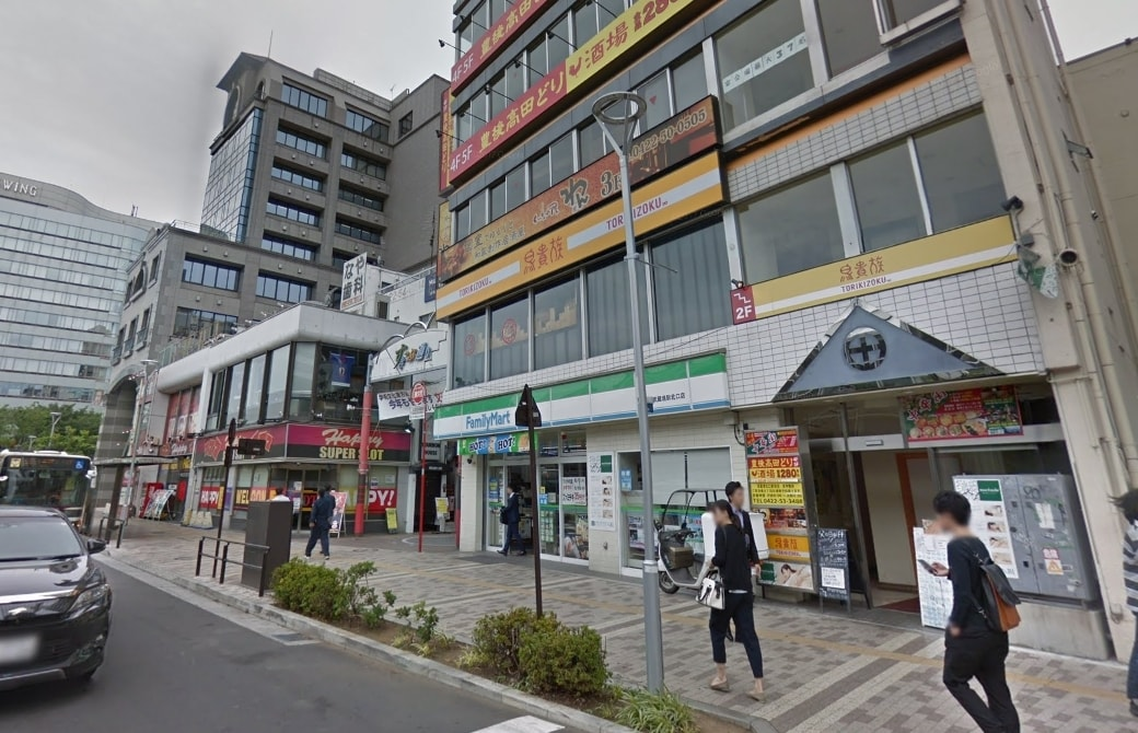 駅周辺の商業施設