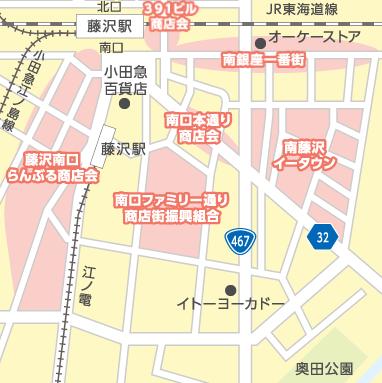 南側商店街マップ
