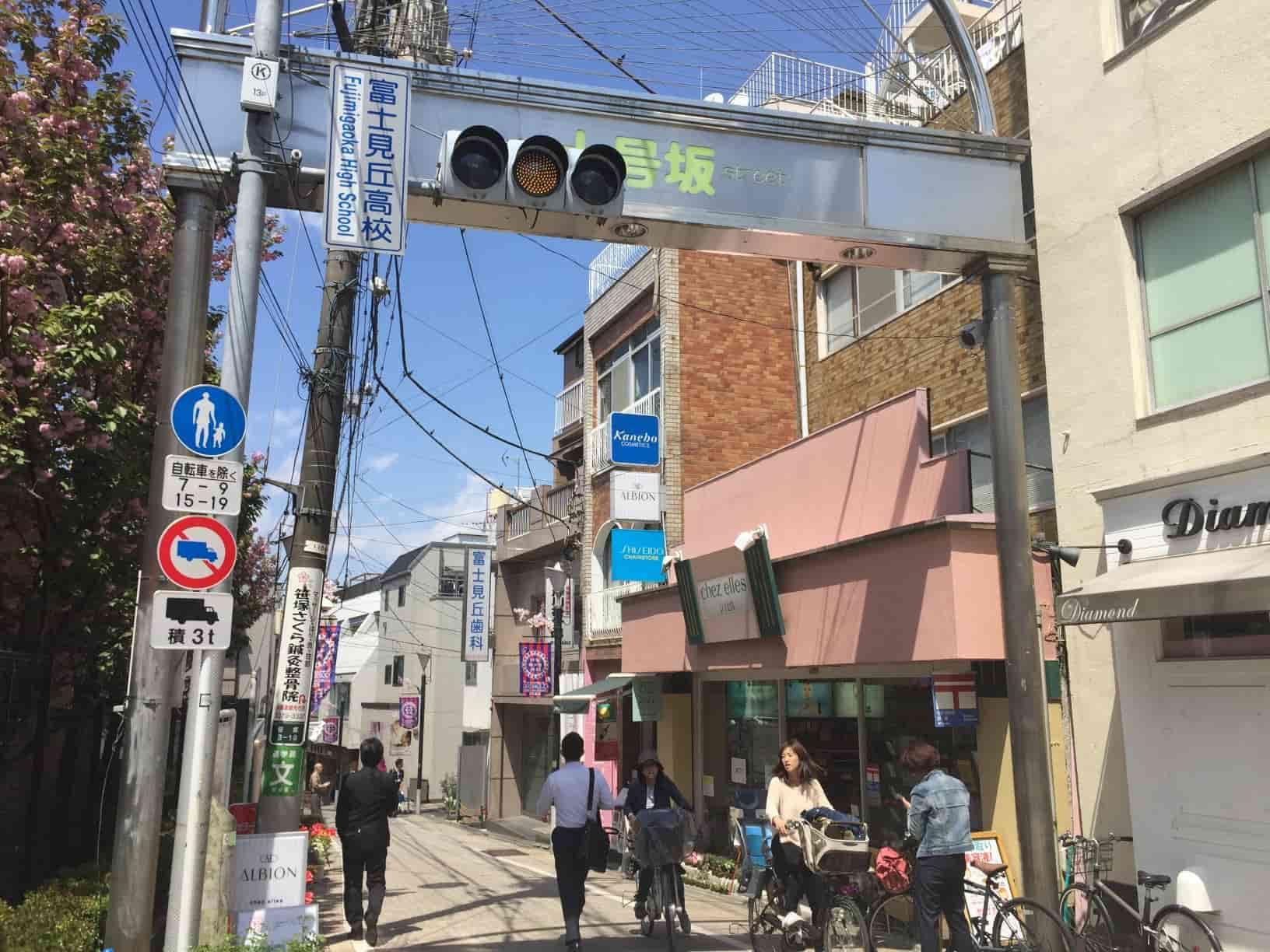 笹塚十号坂商店街