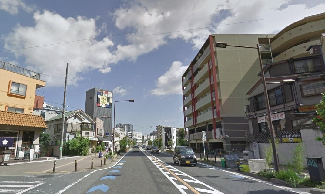 きれいに整備された街並み