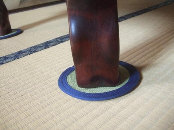 座卓敷・座卓コースターの画像