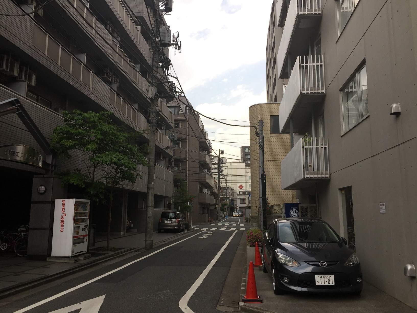 マンションが多い住宅街