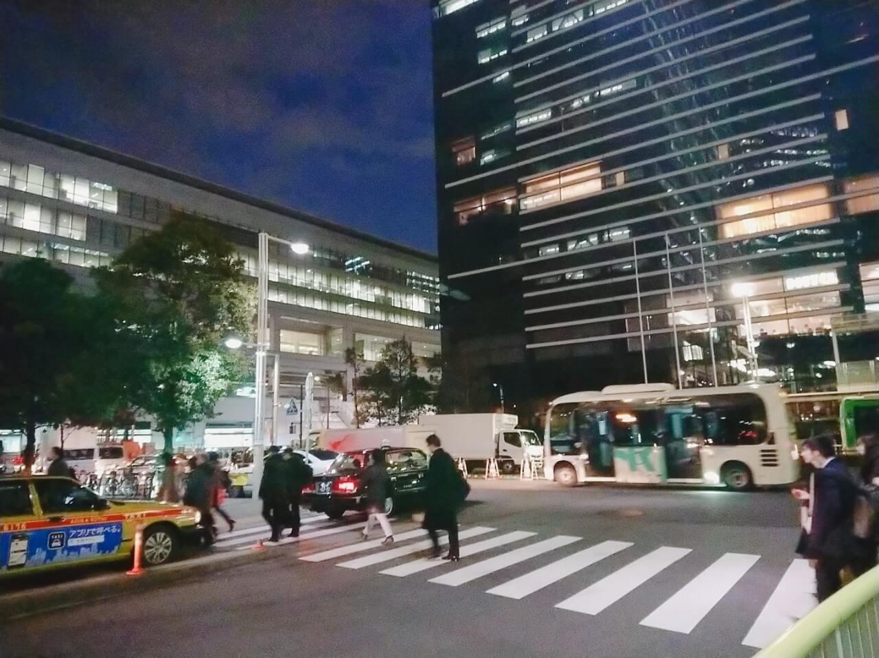 """品川駅東側"""""""