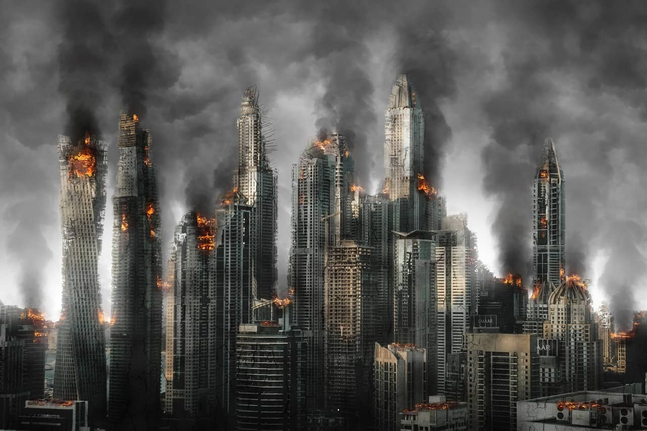 災害時のイメージ