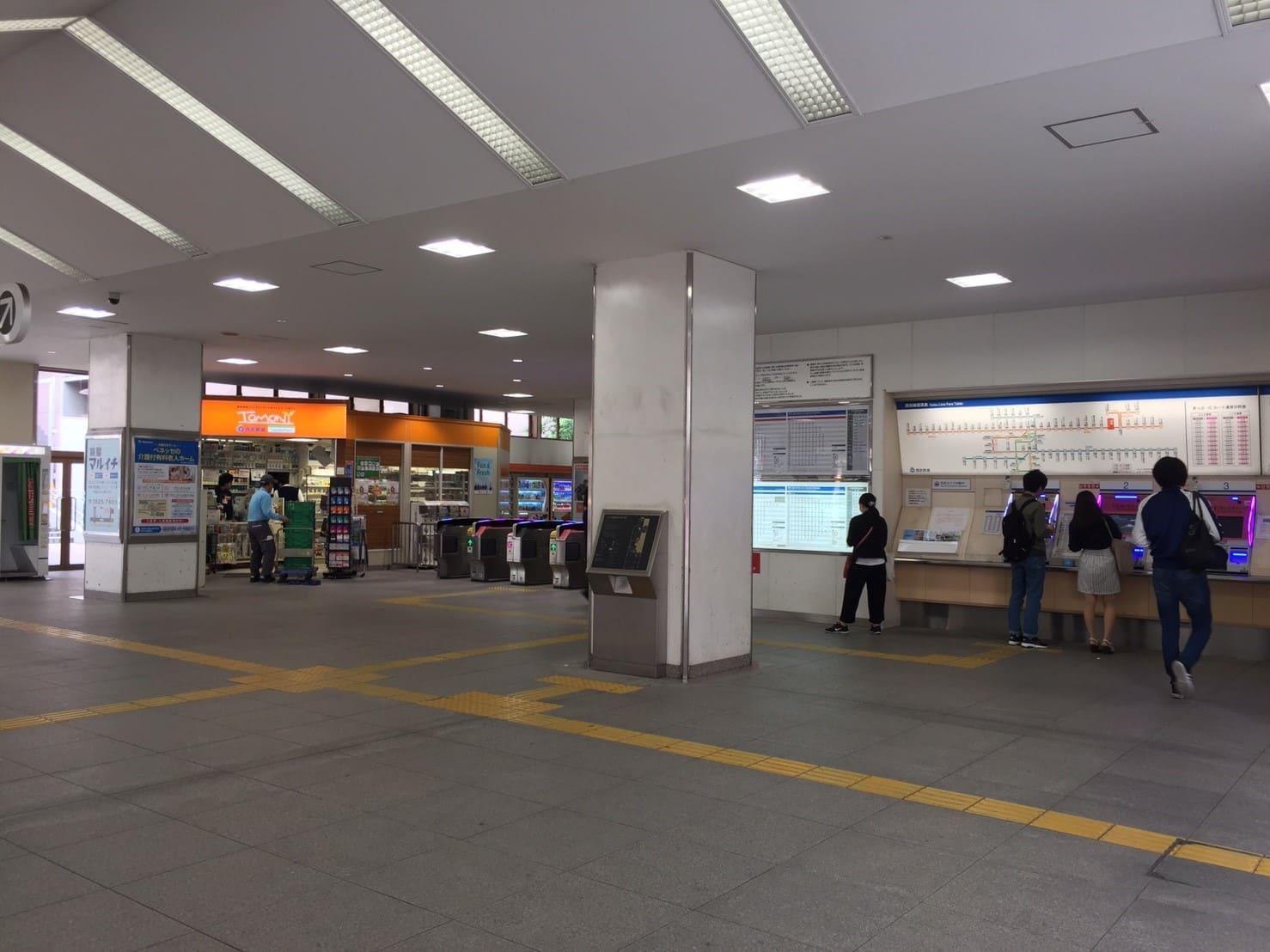 中村橋駅北口側