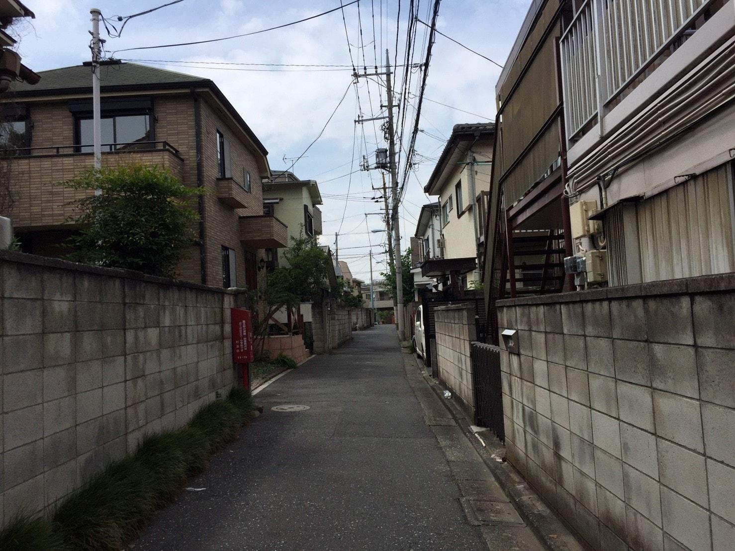 築年数が経った建物も多い
