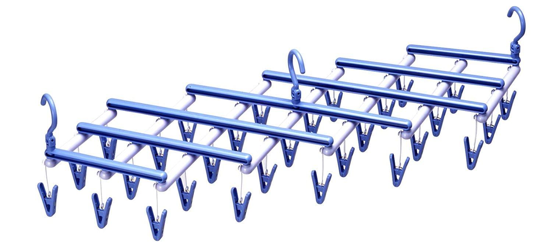 伸縮式洗濯ハンガー
