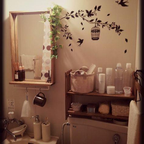 浴室の洗面台アレンジ②
