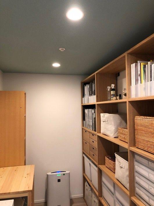 サービスルームを収納部屋にした例